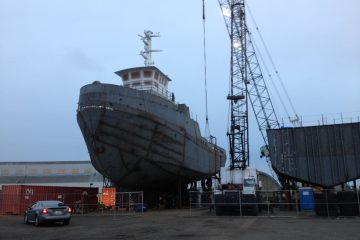JT Marine complets MV Montana new vessel construction